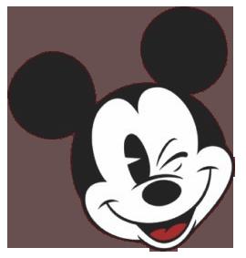 Mickey Head Donald Embroidery Design
