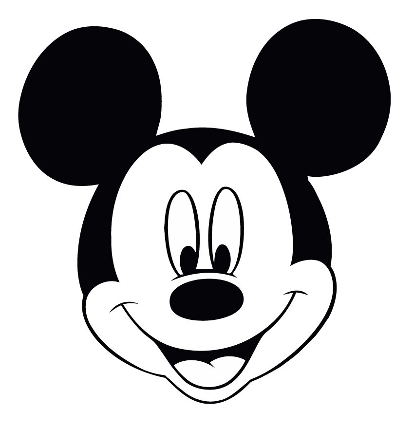 mickey-mouse-face-clip-art-disney-mickey-mouse-head jpgBlack Mickey Mouse Head Clipart