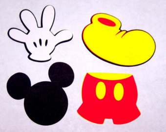 Mickey Mouse Head Shape Black | Clipart Panda - Free Clipart Images