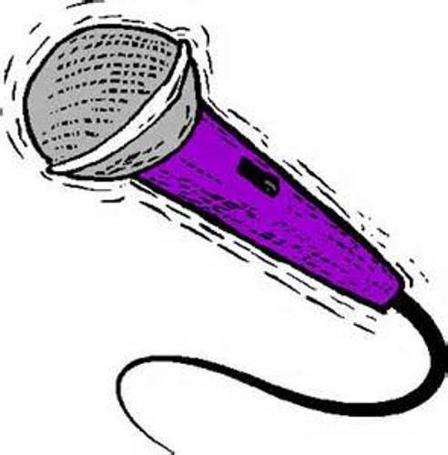 Image result for microphone clip art kids