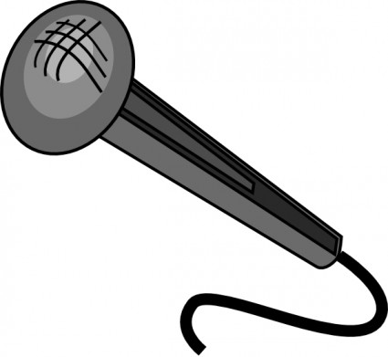 microphone clip arts
