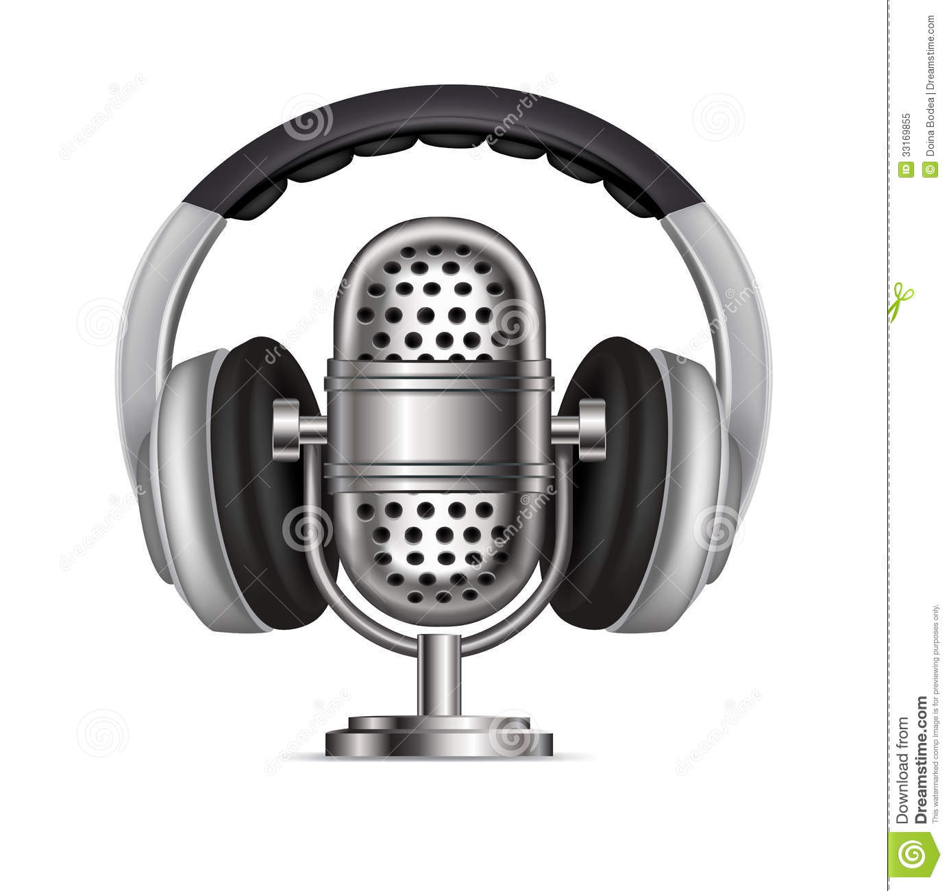 Microphone Royalty Free Clip Art