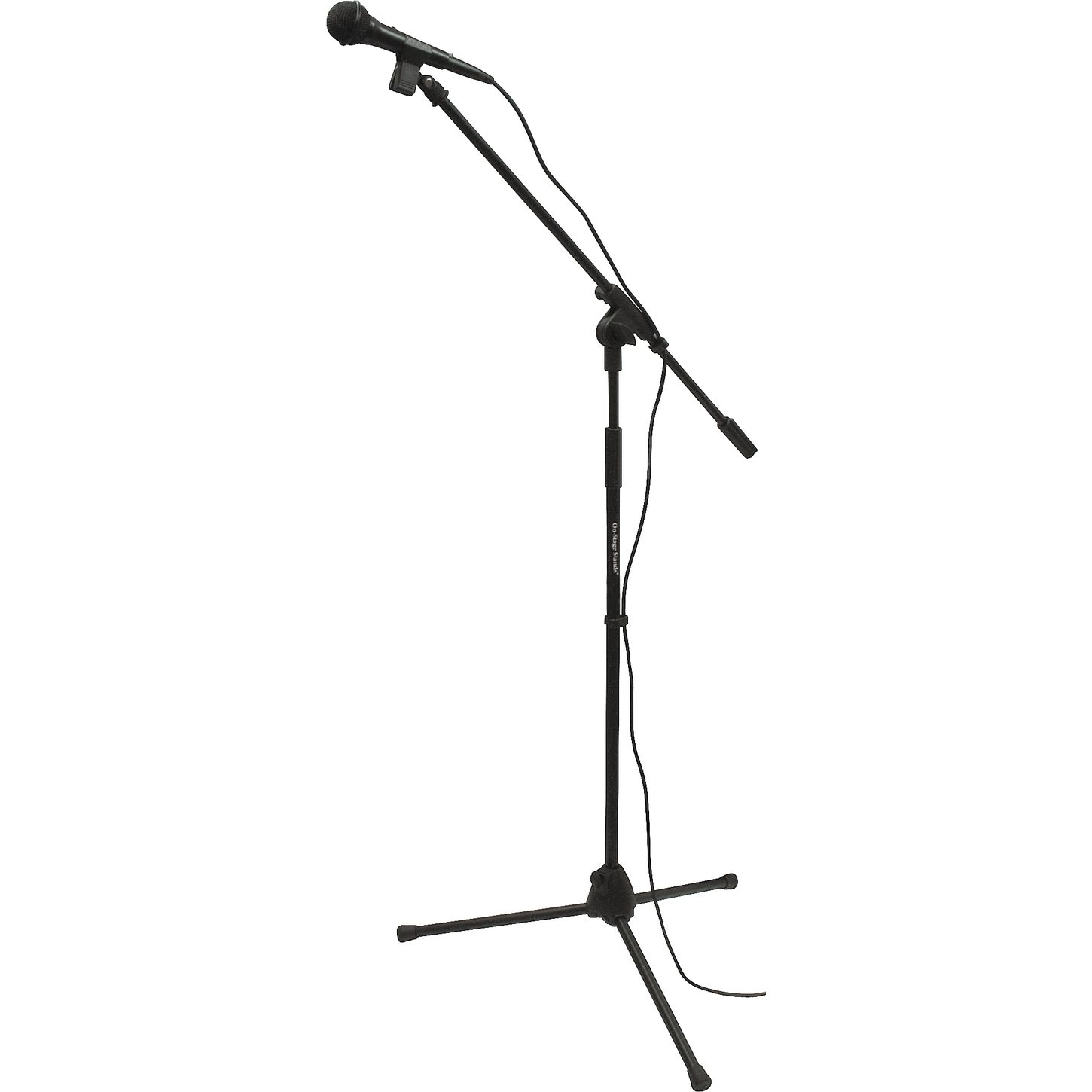 Microphone With Stand Drawing Download