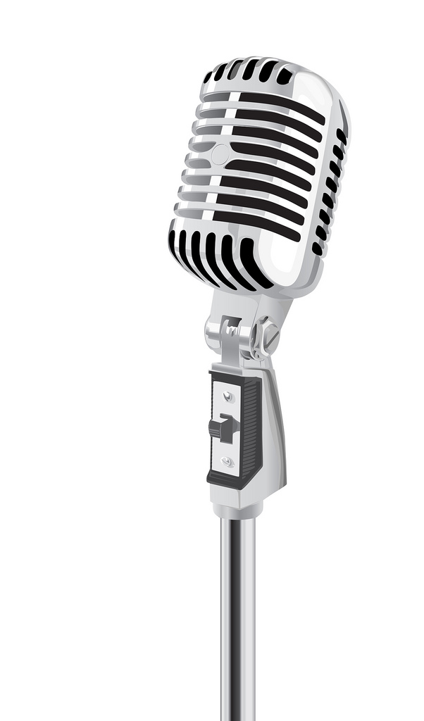Microphone Vector | Clipart Panda - Free Clipart Images