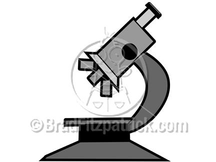 Cartoon Microscope Clip art
