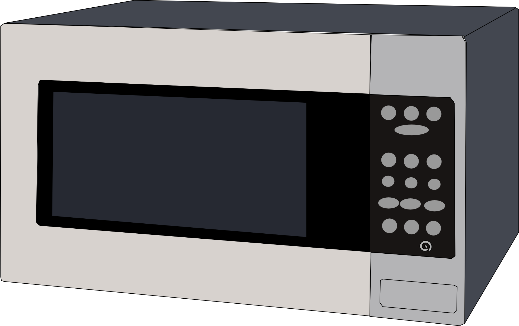Microwave Oven Clip Art ~ Microwave clipart panda free images