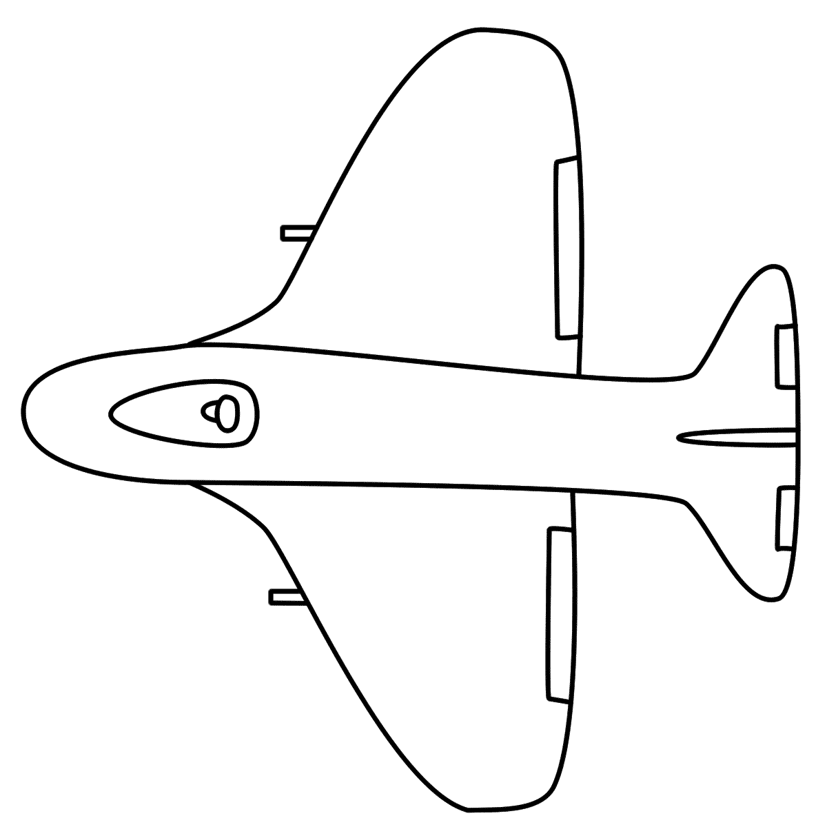 Military Airplane Coloring Pages | Clipart Panda - Free Clipart Images
