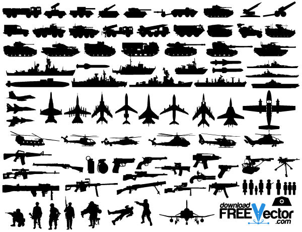 Military Clip Art Black And White | Clipart Panda - Free Clipart ...