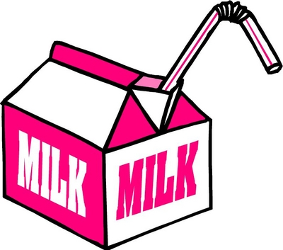 Open Milk Carton Clip Art