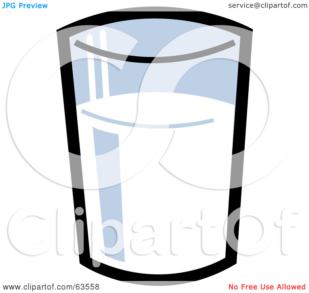 clipart of a glass of milk - photo #20