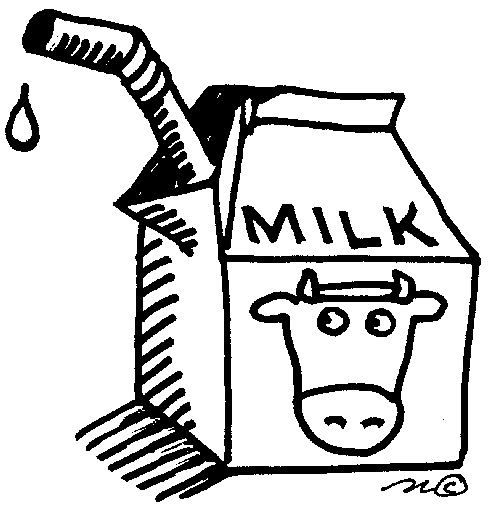 milk carton coloring pages - photo#23