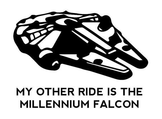 star wars millenium falcon clip art � cliparts
