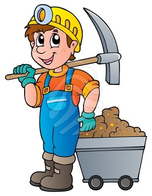 Miners Clip Art
