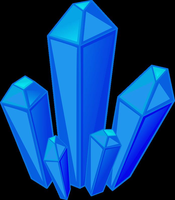 Crystal Gemclip Art