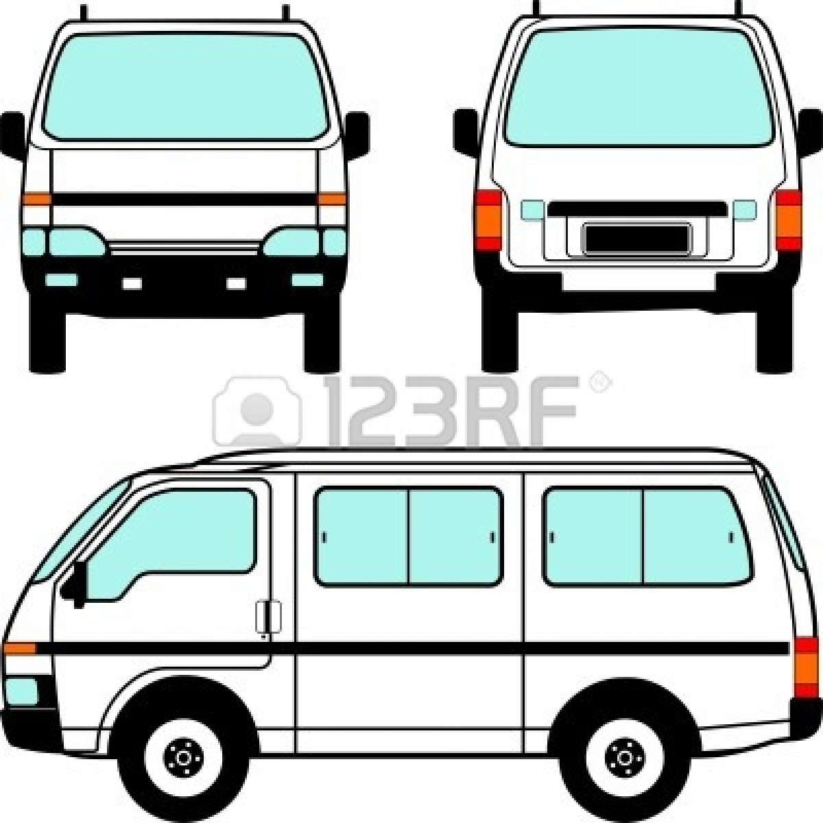 clipart pictures of vans - photo #48