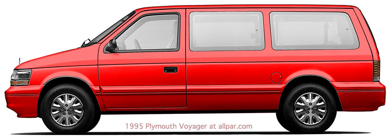 Minivan Drawing Plymouth Voyager on 1991 Dodge Grand Caravan