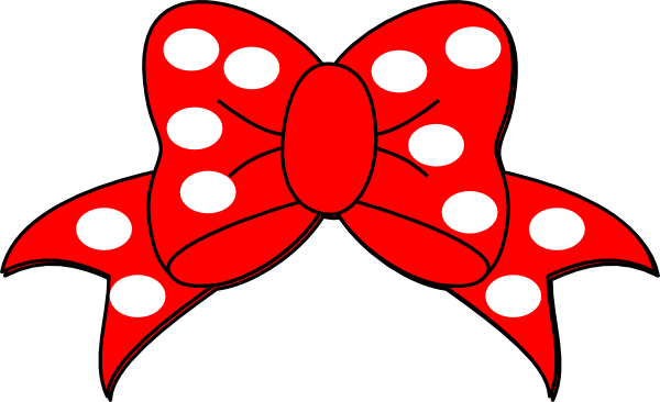 Minnie Mouse Hair Bow Clip Art | Clipart Panda - Free Clipart Images