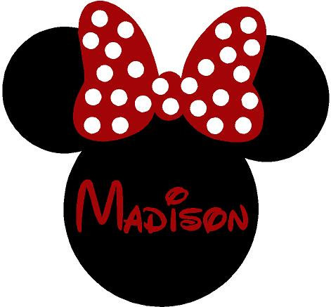 Minnie mouse decals for walls