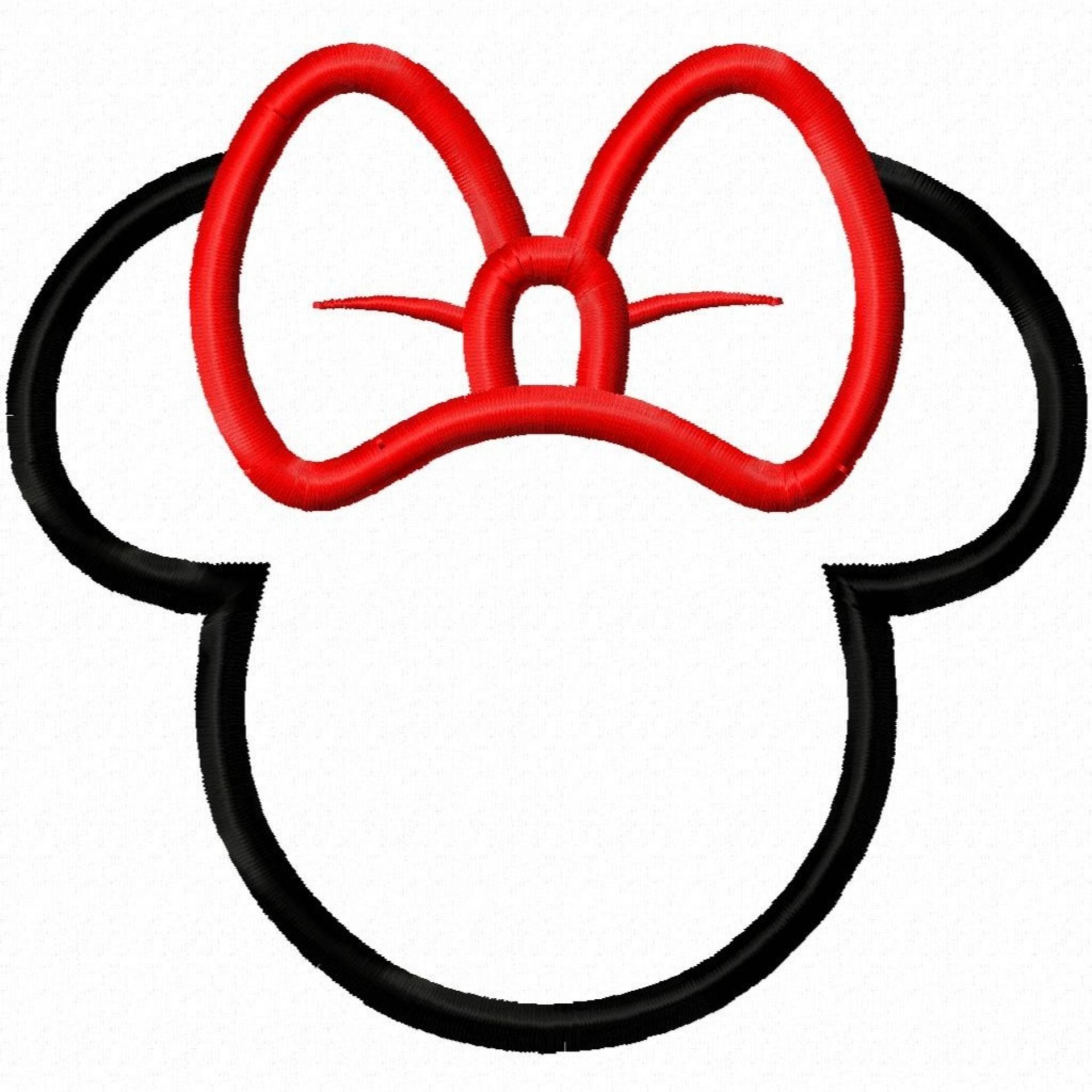 Minnie Mouse Head Clip Art Clipart