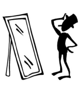 mirror clipart black and white. clipart info mirror black and white