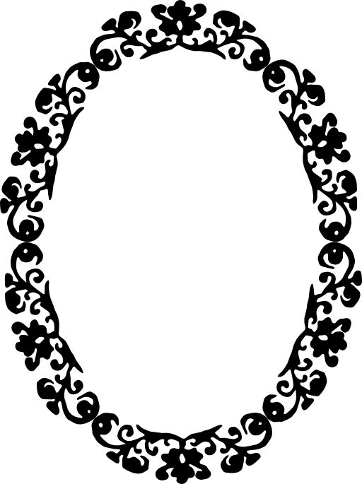 Clipart Panda Free Images, Black And White Mirror Clipart