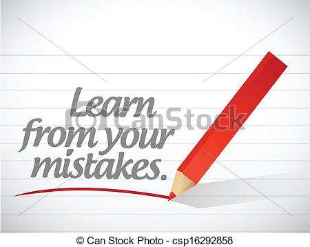 essay on learning from your mistakes