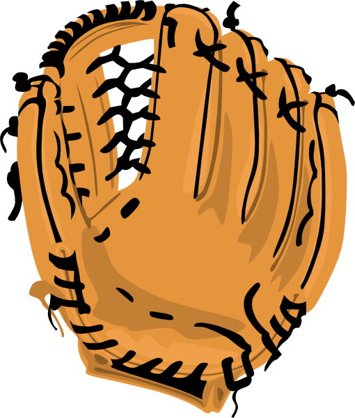 Clip Art Baseball Mitt Clipart baseball glove clipart black and white panda free