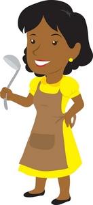 Black Mothers Clip Art