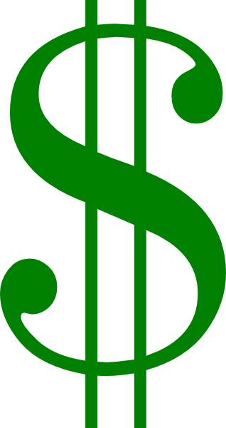 Dollar Sign Clipart Black And White | Clipart Panda - Free ...