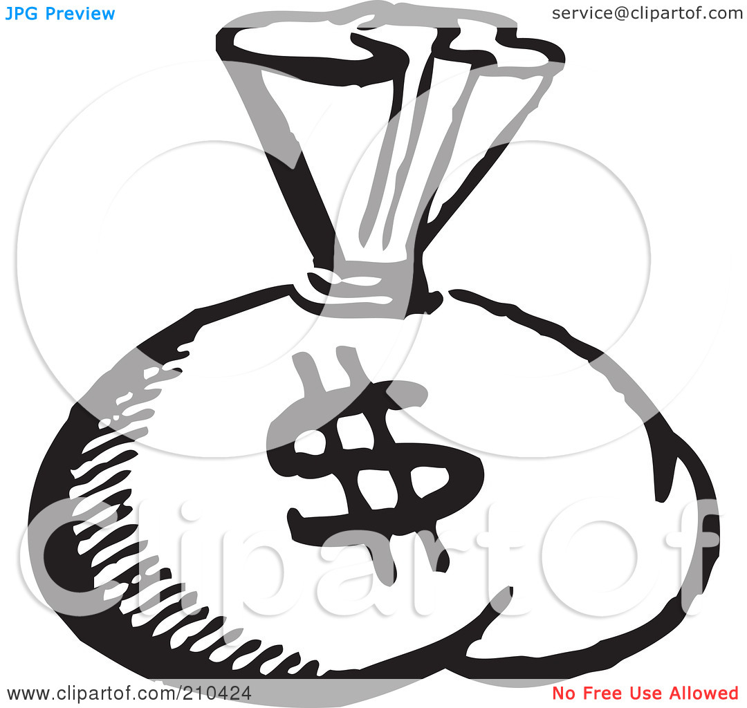 Best Money Clipart Black And White 13897 Clipartion Com