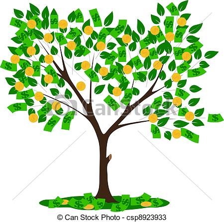 Vector Money Tree Clipart Panda Free Clipart Images