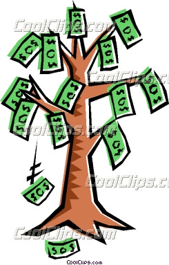 Money Tree Vector | Clipart Panda - Free Clipart Images