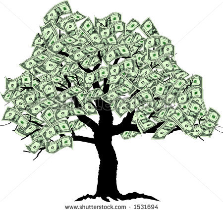 money-tree-clipart-stock-photo-raster-graphic-depicting-a-stylized ...