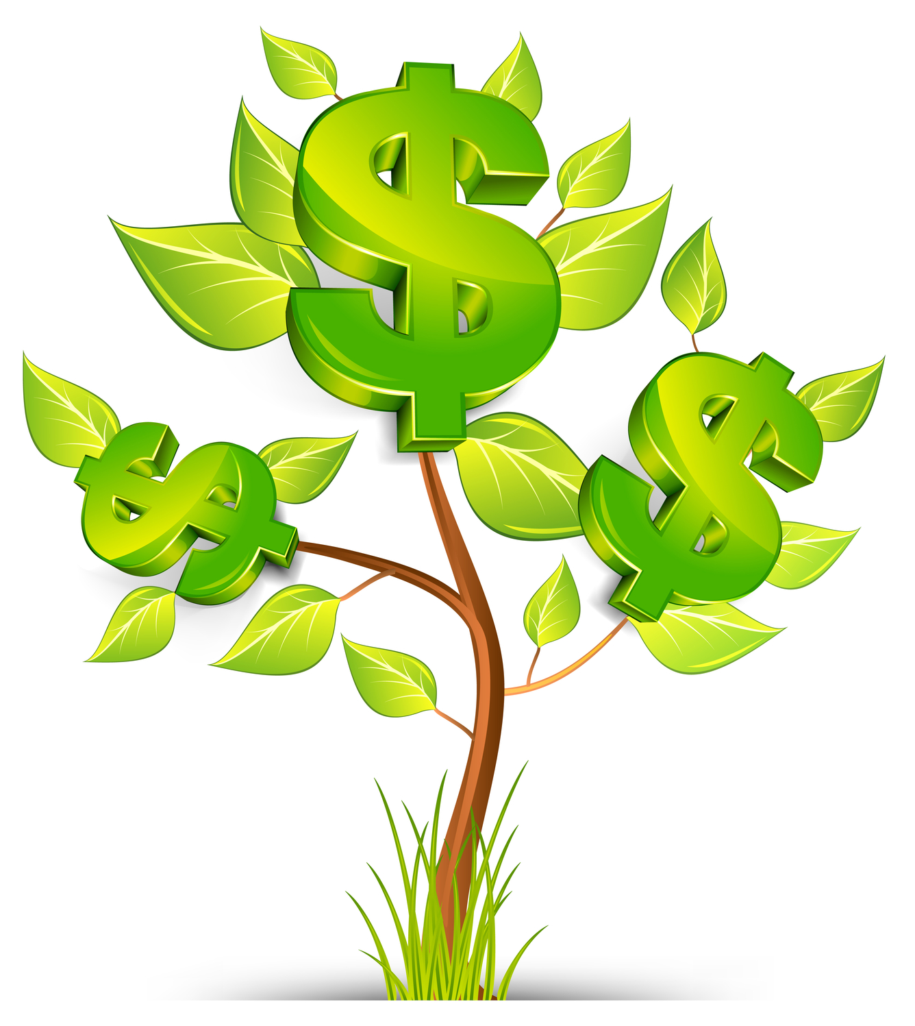 Money Tree Vector Clipart Panda Free Clipart Images