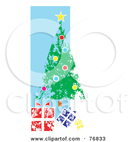 Painted Christmas Tree And Clipart Panda Free Clipart Images
