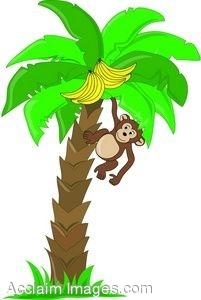 Hanging Baby Monkey Clip Art Clipart Panda Free