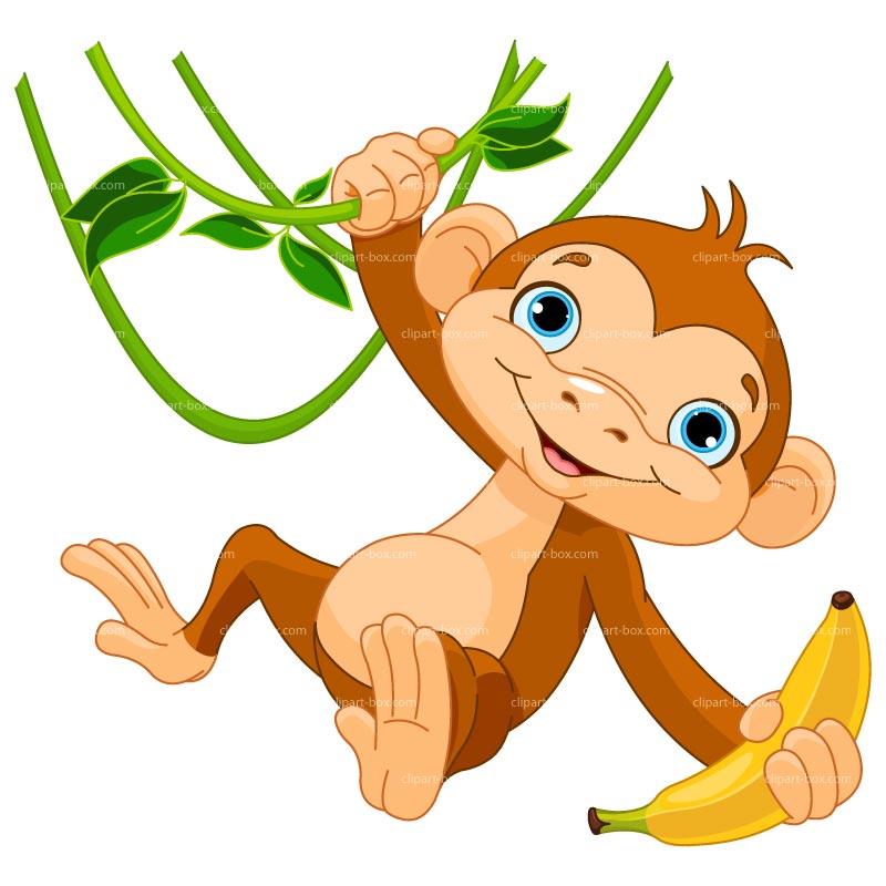 baby monkey with banana clip art clipart panda free clipart images rh clipartpanda com clip art of monkey eating a banana clipart of monkey black and white