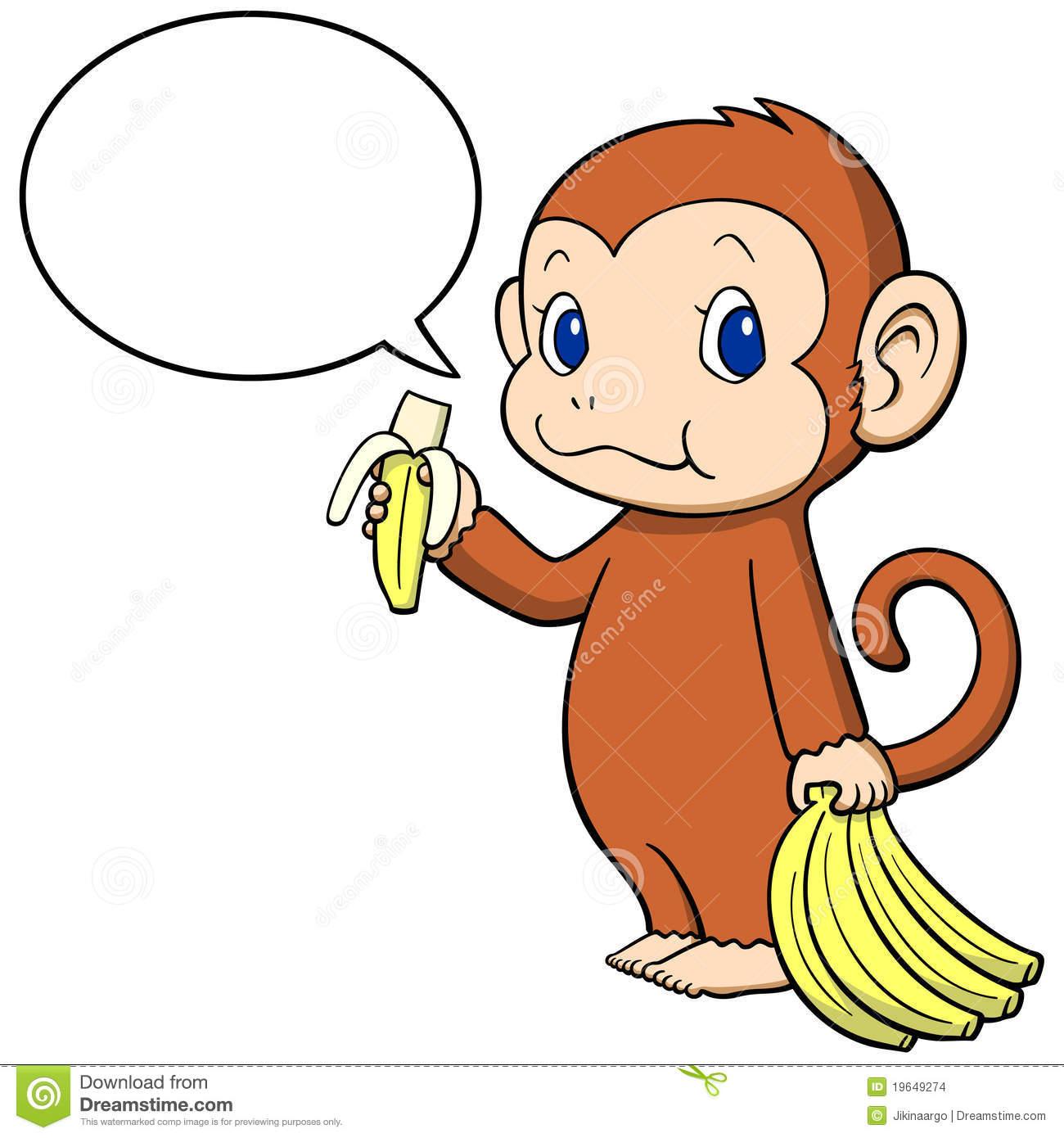 baby monkey with banana clip art clipart panda free clipart images rh clipartpanda com