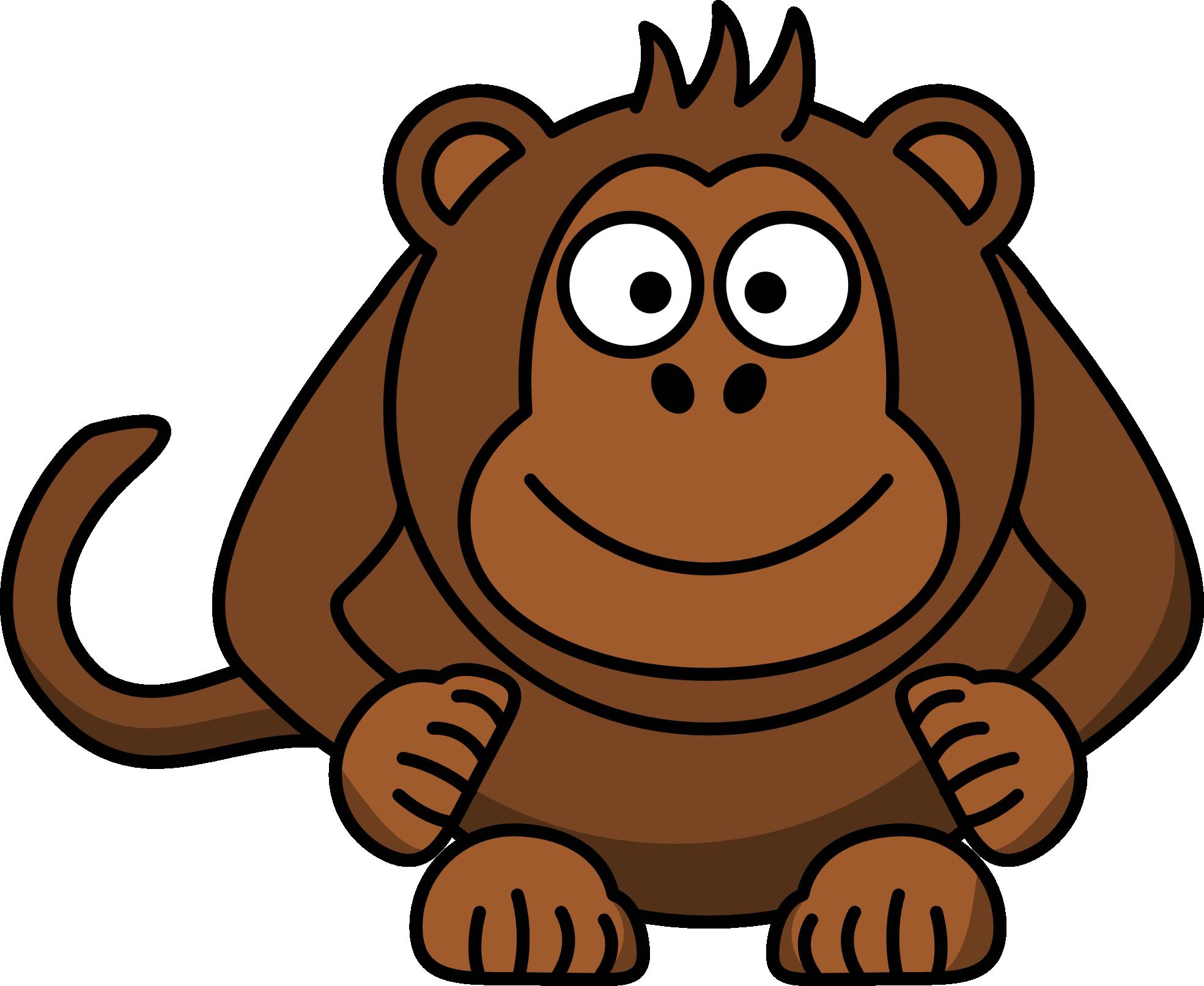 monkey cartoon clipart panda free clipart images chimpanzee face clipart 200 Drawing of Chimpanzees
