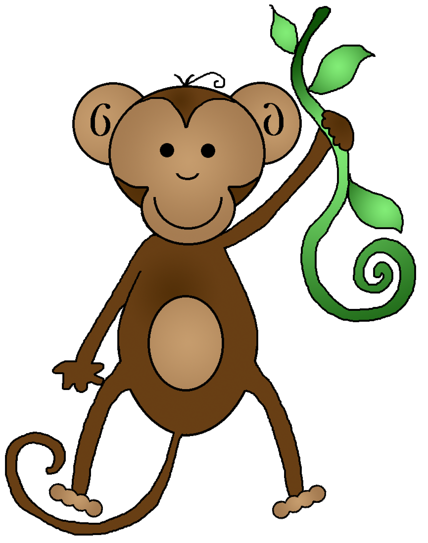 Monkey Clip Art Birthday | Clipart Panda - Free Clipart Images