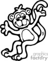 monkey%20clipart%20black%20and%20white