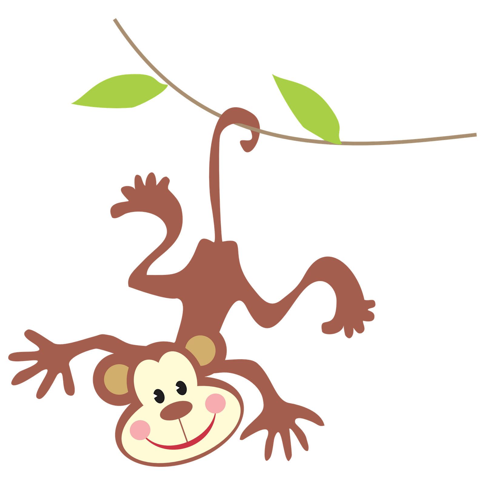clipart image of monkey - photo #47