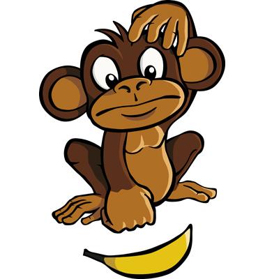 the original five monkeys clipart panda free clipart images rh clipartpanda com Monkey Theme Clip Art Moon Clip Art