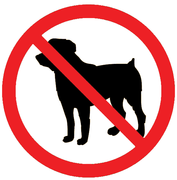 no dogs allowed signs clipart panda free clipart images