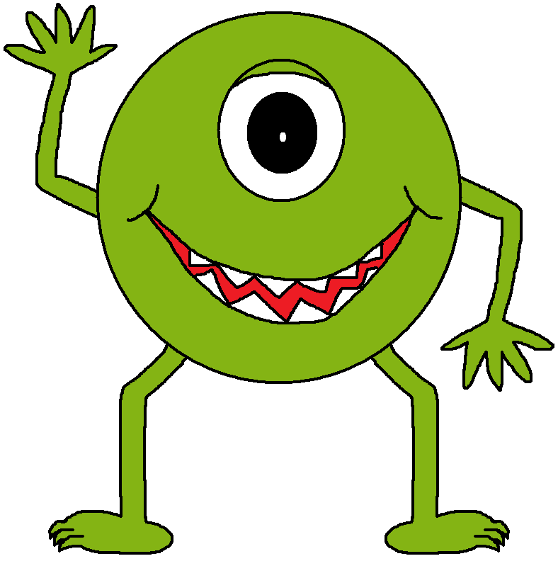 Scary Monster Clipart | Clipart Panda - Free Clipart Images