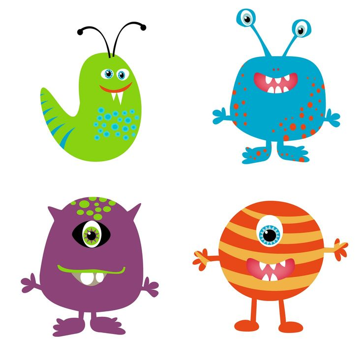Monster Clip Art For Kids | Clipart Panda - Free Clipart Images