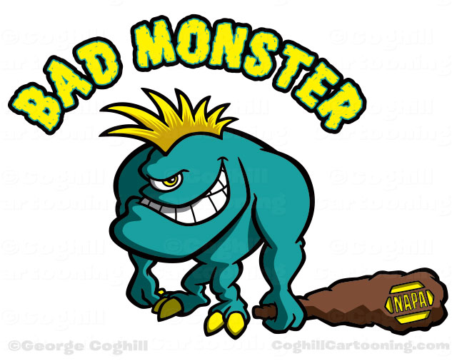Cartoon Characters Monsters : Monster creature clipart panda free images