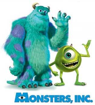 Monsters Inc Movie Image Pixar Clipart Panda Free Clipart Images
