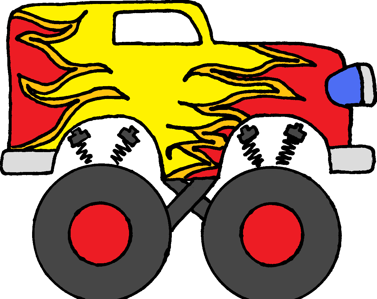 monster truck clip art pictures clipart panda free clipart images