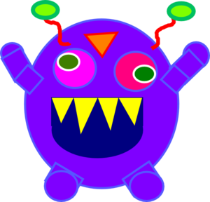 Happy Monster Clipart | Clipart Panda - Free Clipart Images